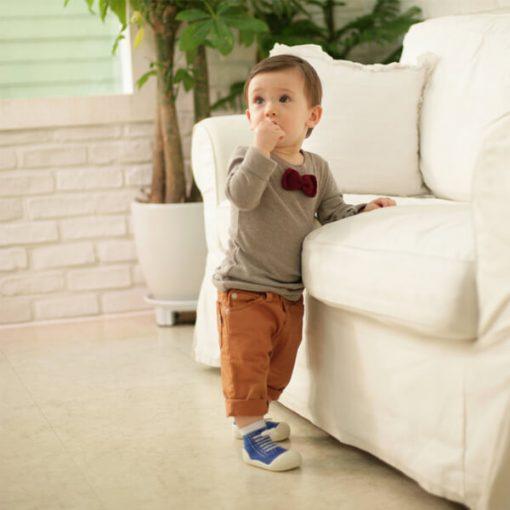 Giầy tập đi Attipas Sneakers - giày cho bé trai 1 tuổi - giầy xinh bé trai