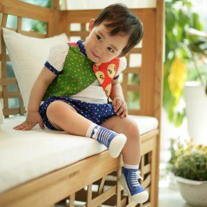 Giầy tập đi Attipas Sneakers - giày cho bé trai 1 tuổi - giày thể thao bé trai