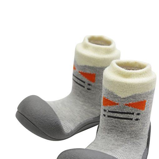 Giầy tập đi Attipas Tie Gray A17TG- giầy trẻ em cao cấp tphcm - giầy chức năng tập đi attipas