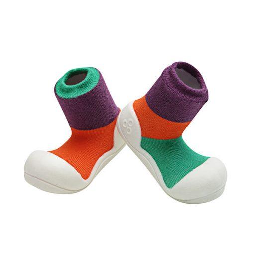 Giầy tập đi Attipas Together Purple AT02 - giày cho bé gái 1 tuổi - giầy xinh cho bé