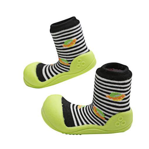 Giầy tập đi Attipas UFO Black AUF03- giày cho bé tập đi - giầy tập đi cho bé