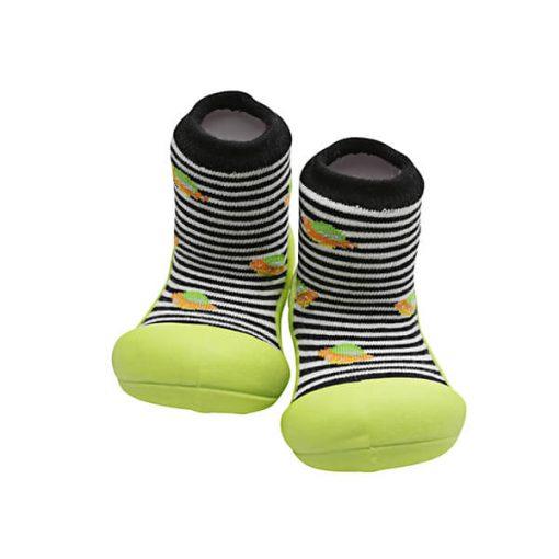 Giầy tập đi Attipas UFO Black AUF03- giày cho bé trai 1 tuổi - mẫu giày đẹp cho bé trai 1 tuổi