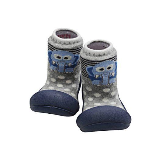 Giầy tập đi Attipas ZOO Navy ZO02 - giầy đẹp cho bé trai 1 tuổi - giầy bé trai tập đi