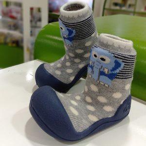 Giầy tập đi Attipas ZOO Navy ZO02 - giầy xinh cho bé trai - giầy xinh bé trai 2 tuổi