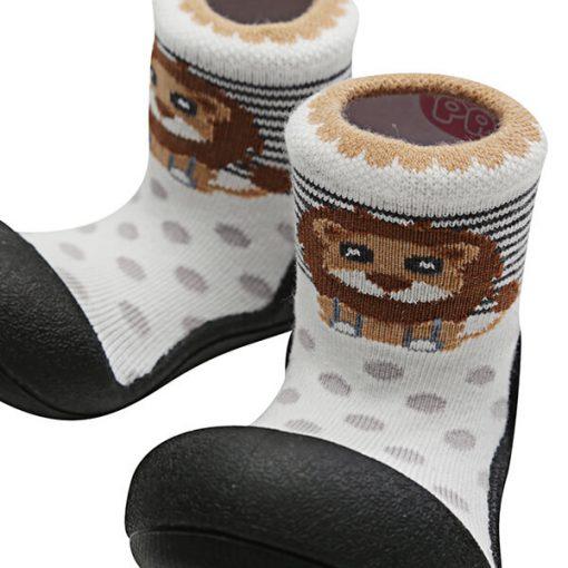 Giầy tập đi Attipas ZOO Black ZO03 - giày tập đi cho bé - giày xinh cho bé 1 tuổi hà nội