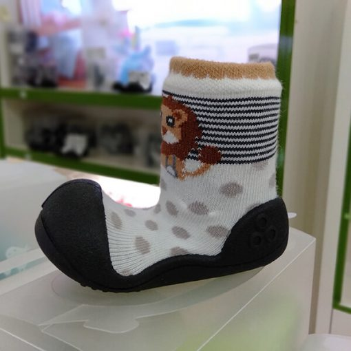 Giầy tập đi Attipas ZOO Black ZO03 - mẫu giày bé gái đẹp - giày xinh cho bé gái 1 tuổi