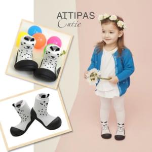 Giầy tập đi Attipas Cutie White A17CW- giày xinh cho bé gái tập đi - giày đẹp cho bé gái 3 tuổi