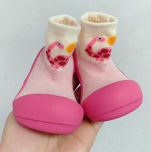 Giầy tập đi cho bé Attipas Dinosaur - giầy bé gái 1 tuổi- giầy bé gái 2 tuổi