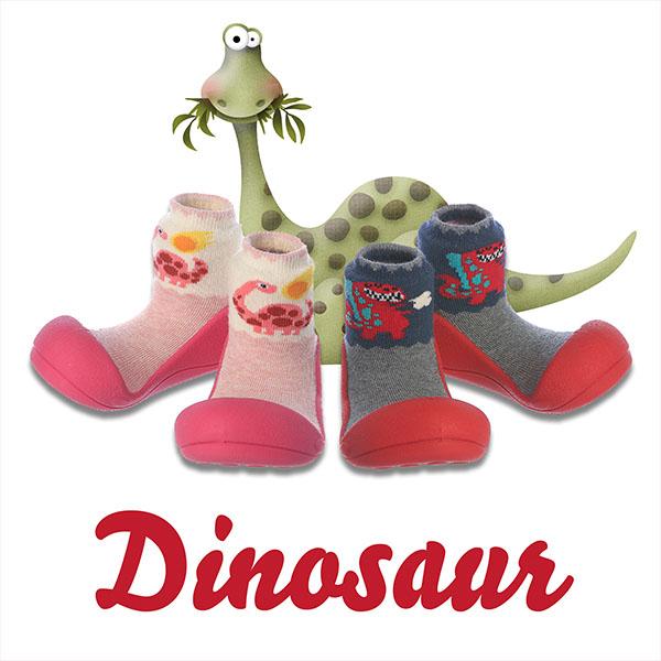 Giầy tập đi cho bé Attipas Dinosaur - giầy xinh cho bé gái - giầy bé gái đẹp