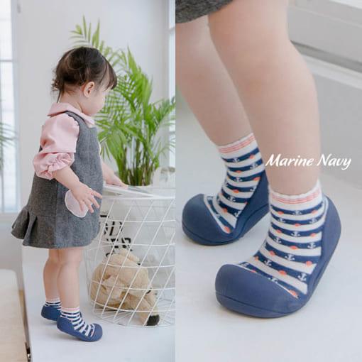 Giầy tập đi Attipas Marine, giầy xinh cho bé trai, giầy xinh cho bé gái