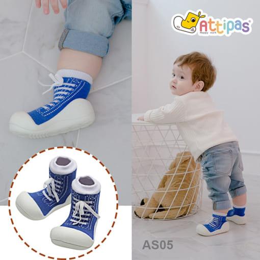 giầy tập đi attipas sneakers, giầy bé trai 1 tuổi - giầy tập đi cho bé trai