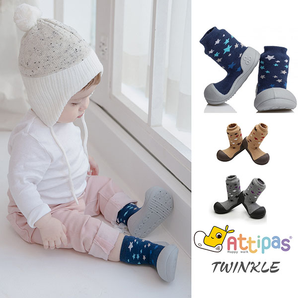 Giầy tập đi Attipas Twinkle - giầy xinh cho bé - giầy bé trai 1 tuổi - giầy bé gái 1 tuổi