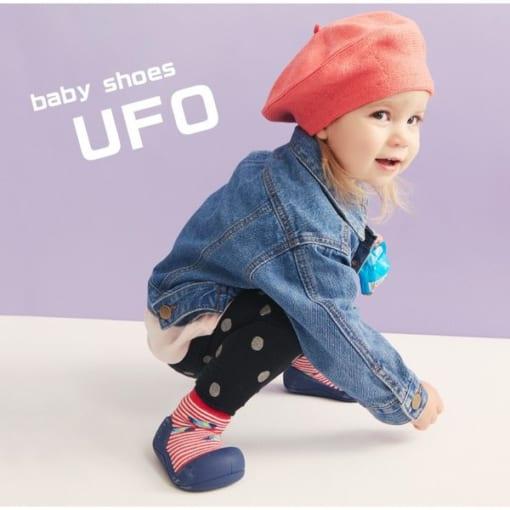 Giầy tập đi Attipas UFO Red - giầy bé trai tập đi - giầy bé gái tập đi