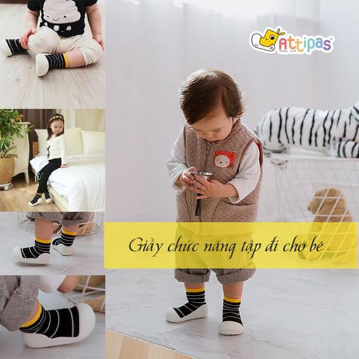 giầy tập đi attipas urban yellow, giầy xinh cho bé gái 1 tuổi, giáy cho bé đẹp