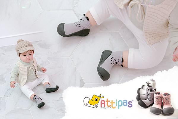 Giầy tập đi cho bé attipas cutie - giầy trẻ em hàng hiệu - giầy xinh cho bé - giầy đẹp cho bé hà nội