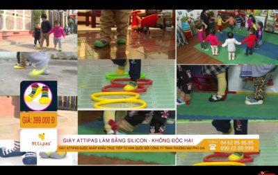 Giới thiệu giầy chức năng tập đi Attipas Hàn quốc - giày tập đi hàn quốc attipas