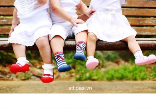 giày tập đi attipas có bí chân không - giầy tập đi - giầy xinh cho bé trai, giầy xinh cho bé gái,