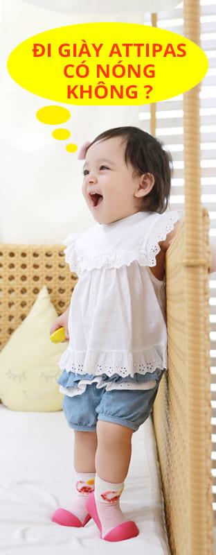 giầy tập đi attipas - giầy xinh cho bé gái hà nội - giầy xinh cho bé gái tphcm